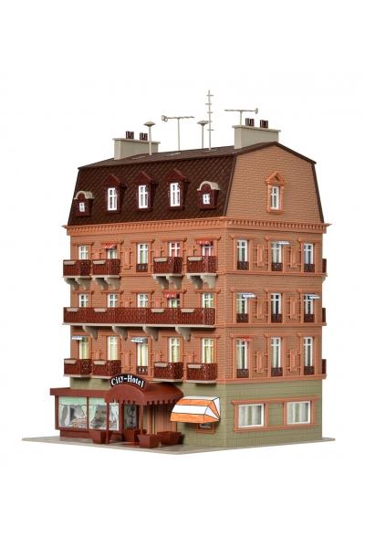 Vollmer 43782 Городской отель с LED-освещением 1/87