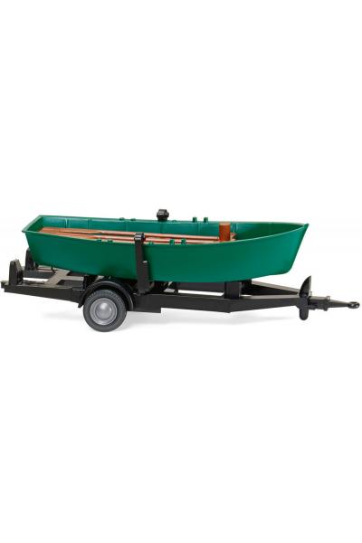 Wiking 009401 Прицеп с лодкой Epoche V 1/87