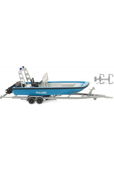 Wiking 009545 Прицеп с лодкой Epoche V 1/87