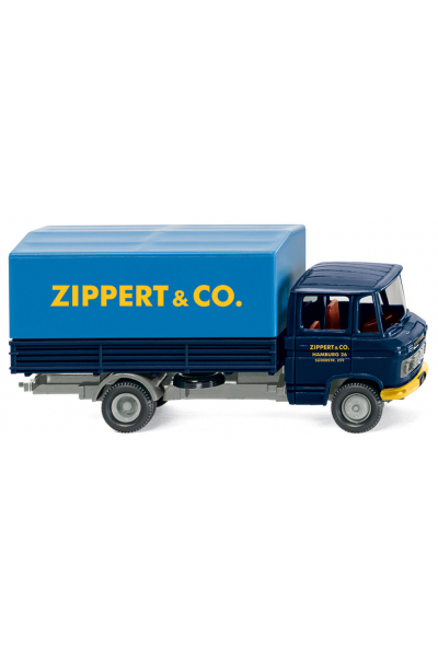 Wiking 027101 Автомобиль MB L 408 Spedition Zippert Epoche IV-V 1/87