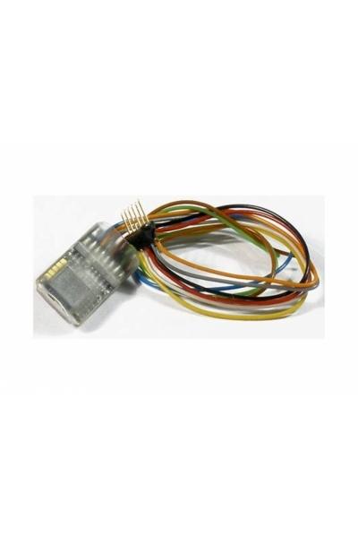 Zimo MX631F Декодер 6-pin NEM 651 с проводами 1,2 А