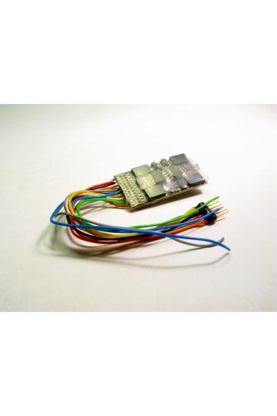 Zimo MX632F  Декодер 1,8 А 6-pin NEM 651 на проводах