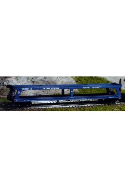 Пересвет 3642 Платформа для перевозки легковых автомобилей РЖД эпоха V 1/120