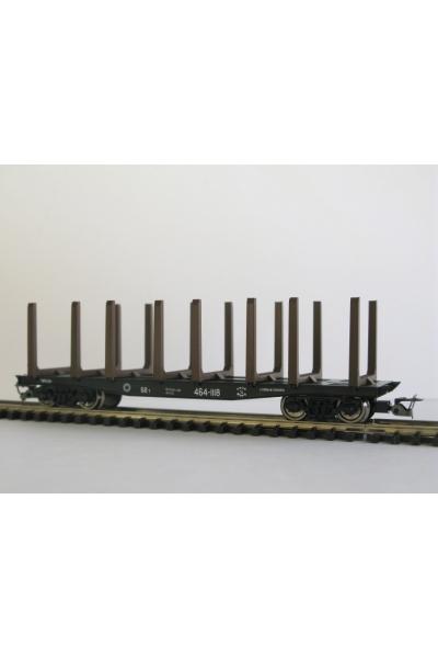 Пересвет 3810 Платформа для леса СЖД эпоха IV 1/120