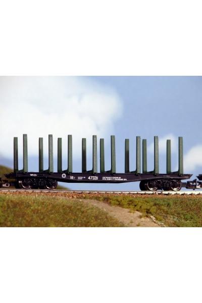 Пересвет 3812 Платформа для леса СЖД эп.IV 1/120
