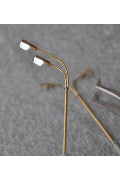 Svettofor 9406 Фонарь освещения двойной тип 2 (натриевая лампа) 1/87