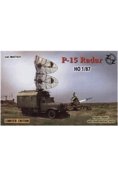 ZZ 87031 Модель автомобиля ЗиЛ-157 радар Р 15 1/87